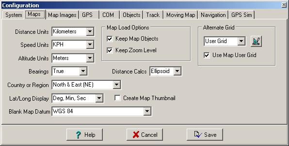 Map path